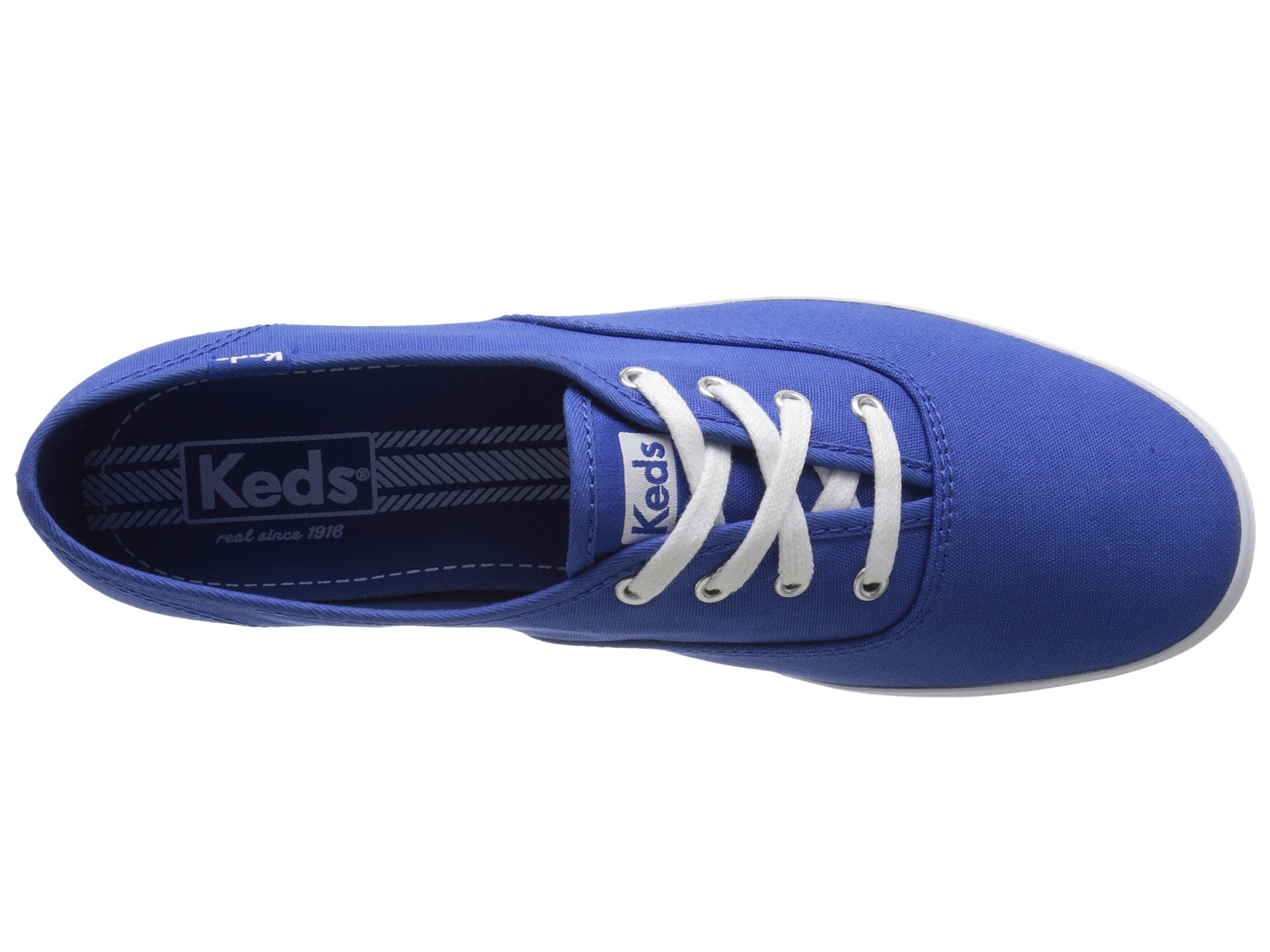 keds champion seasonal solids blue 2