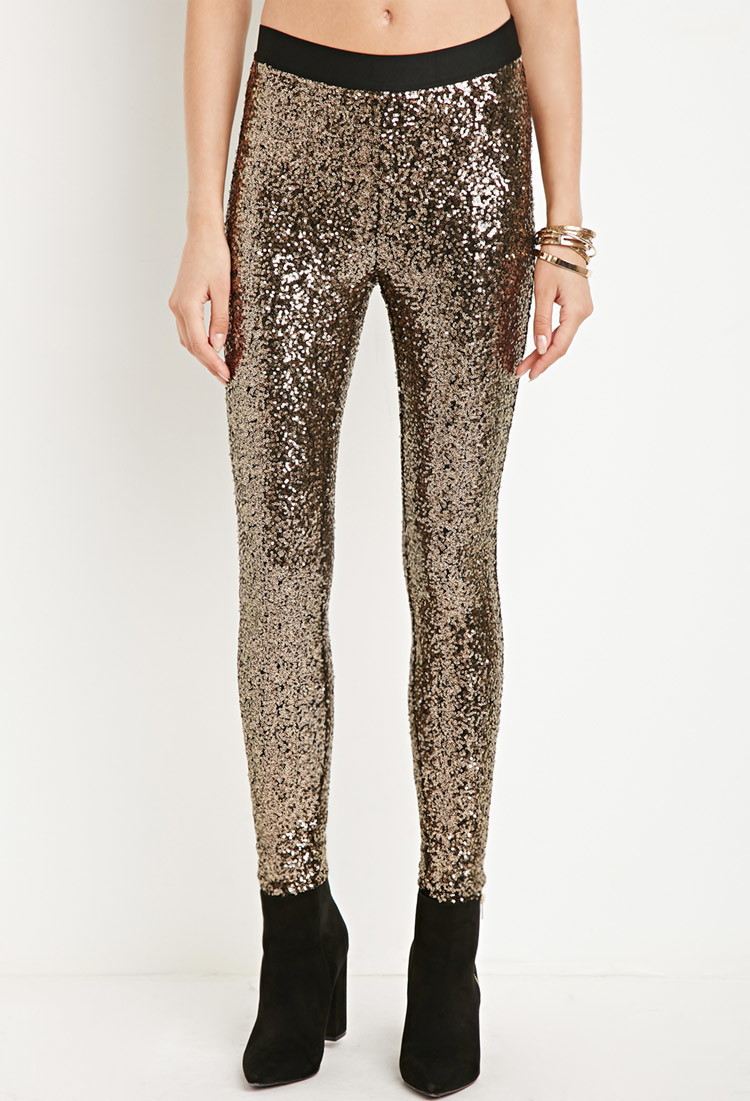 6b4321dc Forever 21 Sequin Leggings You've Been Added To The Waitlist in ...