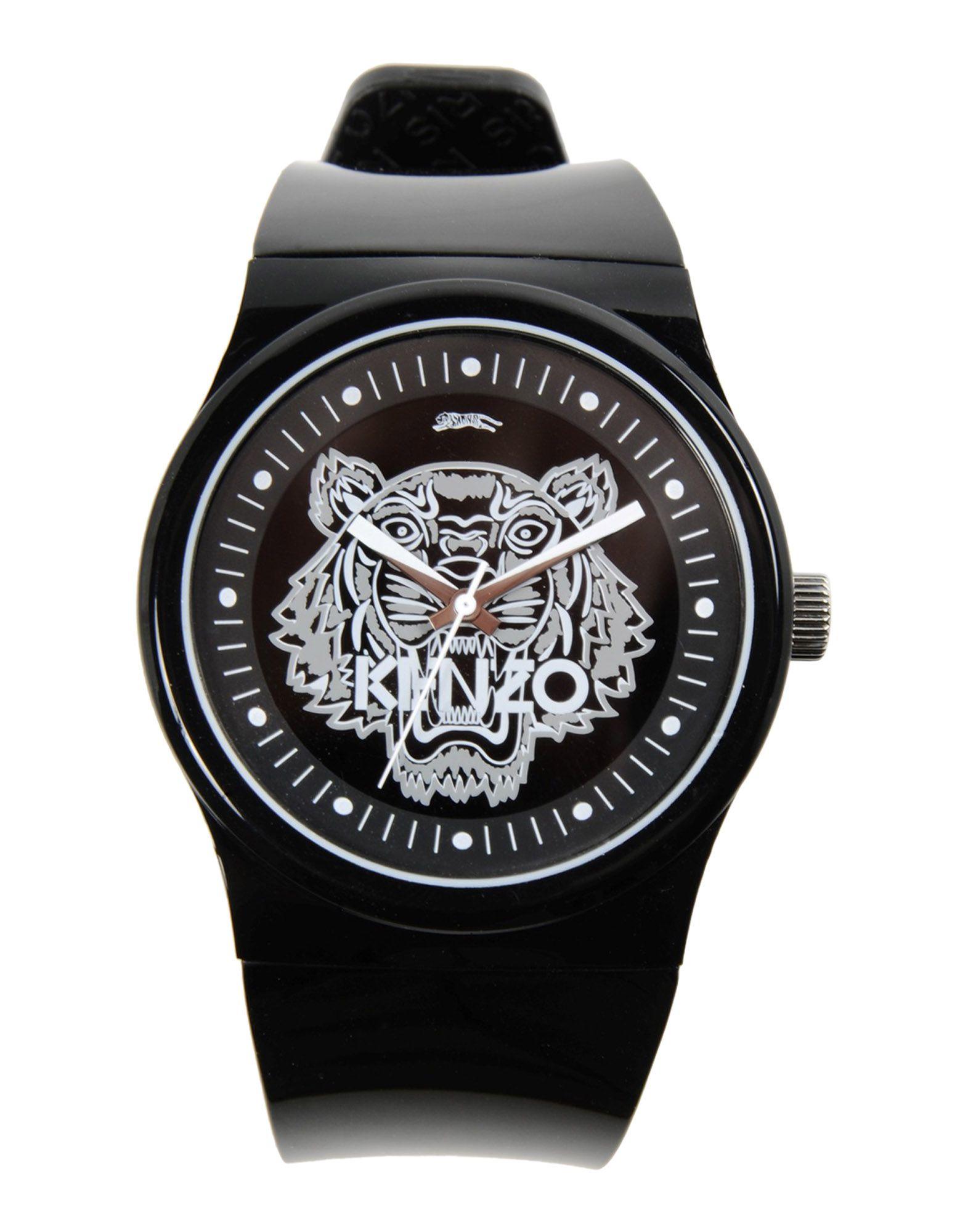 Kenzo Wrist Watch In Black For Men Lyst