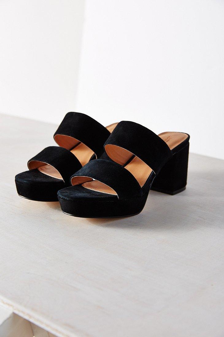 263f449ad31 Lyst - Urban Outfitters Julia Platform Heel in Black