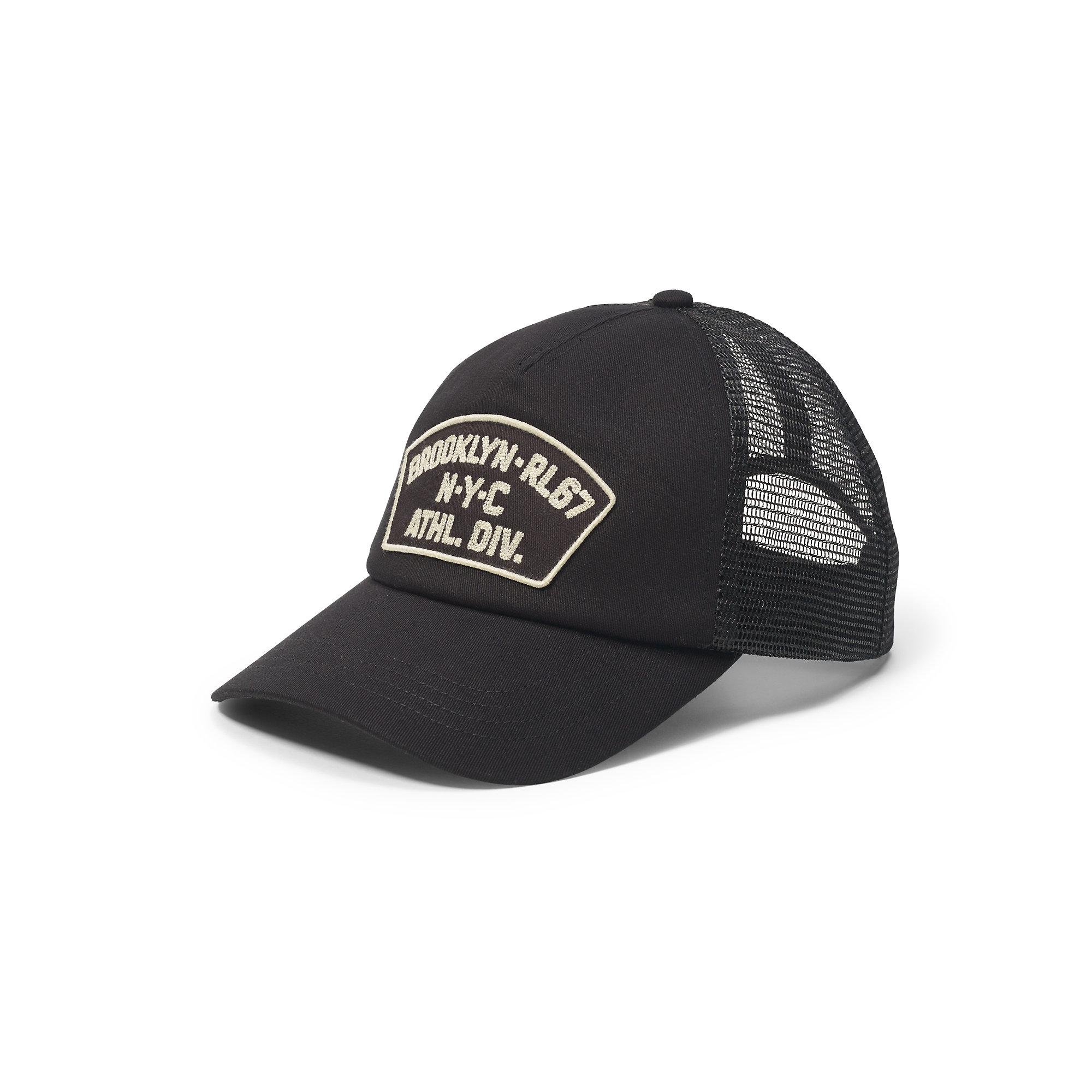 Lyst - Polo Ralph Lauren Utility Mesh Trucker Hat in Black for Men 941143c04b9