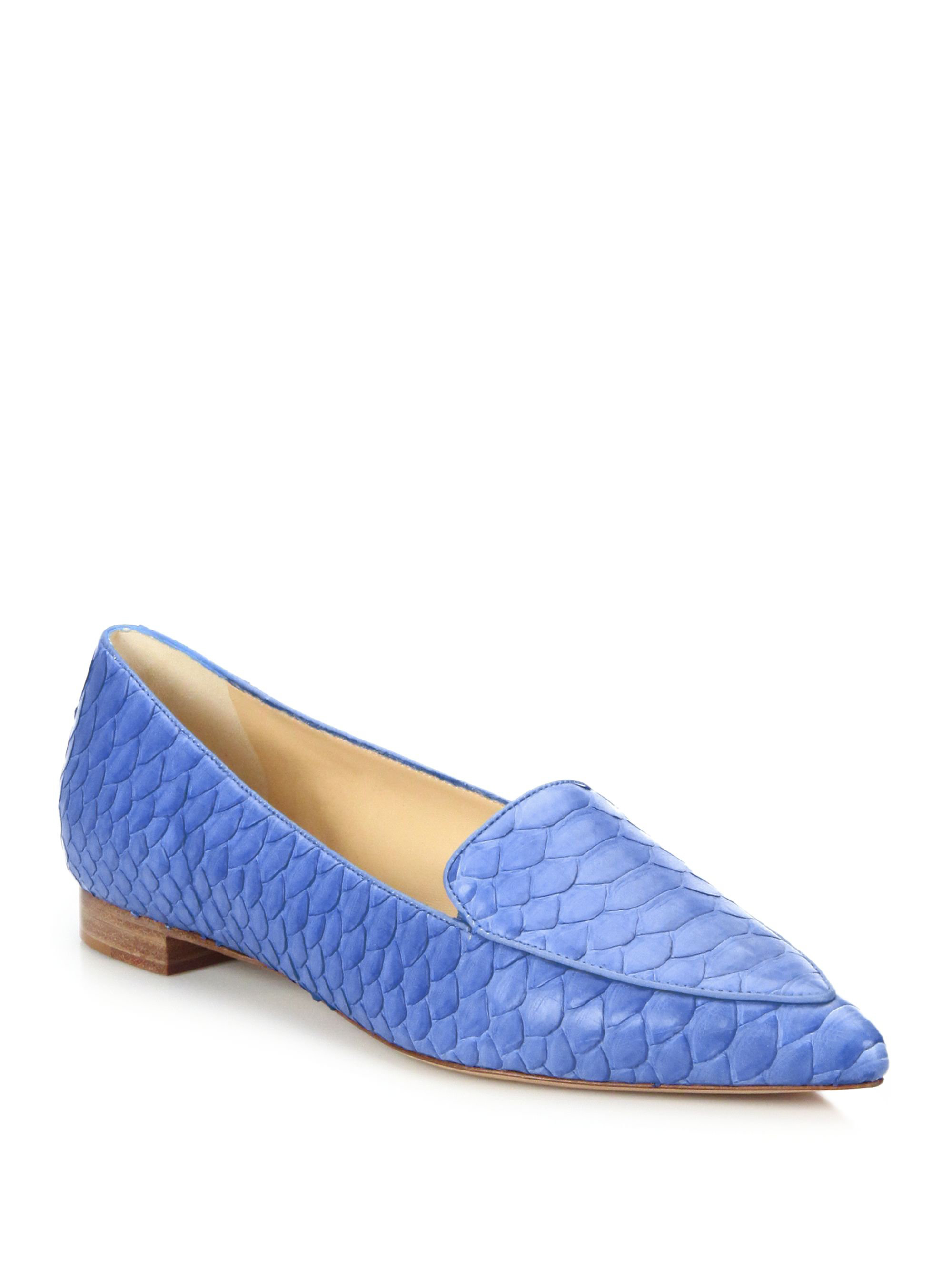 ALEXANDRE BIRMAN Python Flats Extremely Cheap New Arrival Outlet Wide Range Of ntFdB