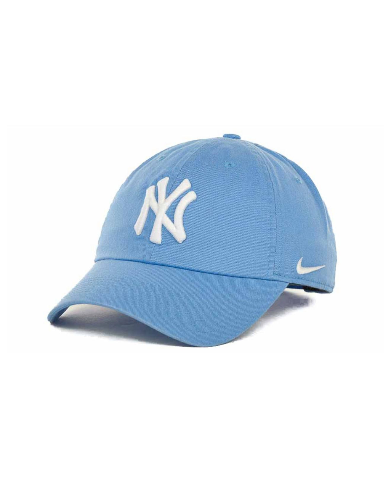 ef5032155dfac ... lyst nike womens new york yankees stadium cap in blue