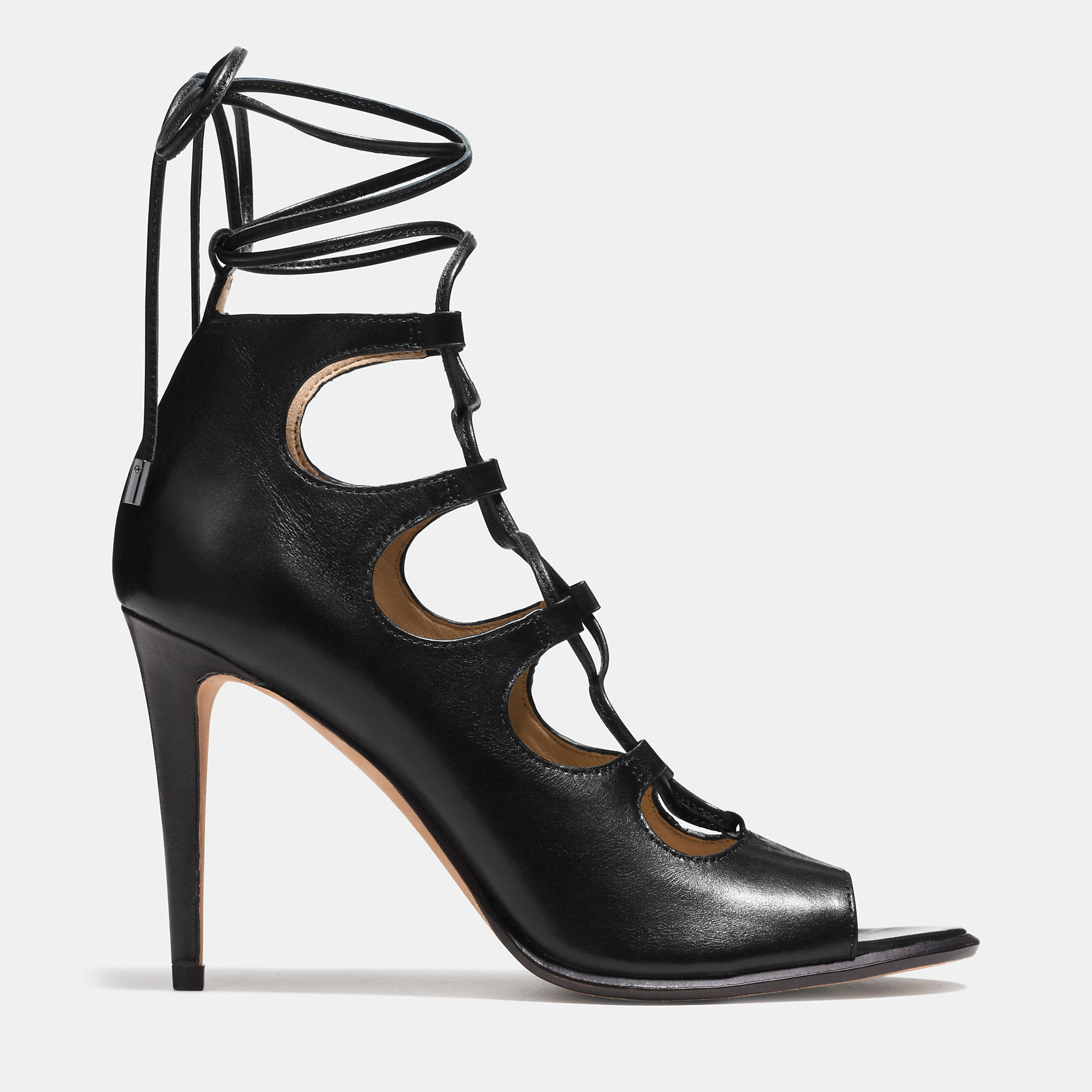 Lyst - Coach Kira Heel in Black