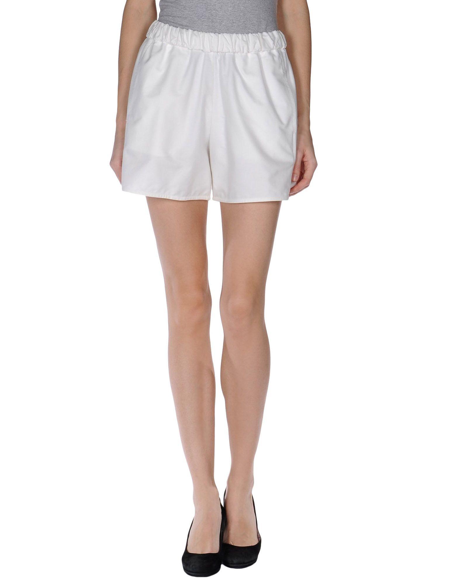 carven mini skirt in white lyst