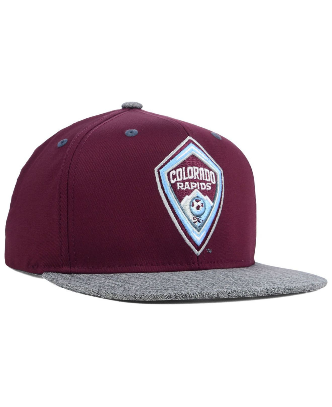 sneakers for cheap 85c72 aefac ... real lyst adidas colorado rapids team snapback cap in purple for men  d5cab 4c4cc