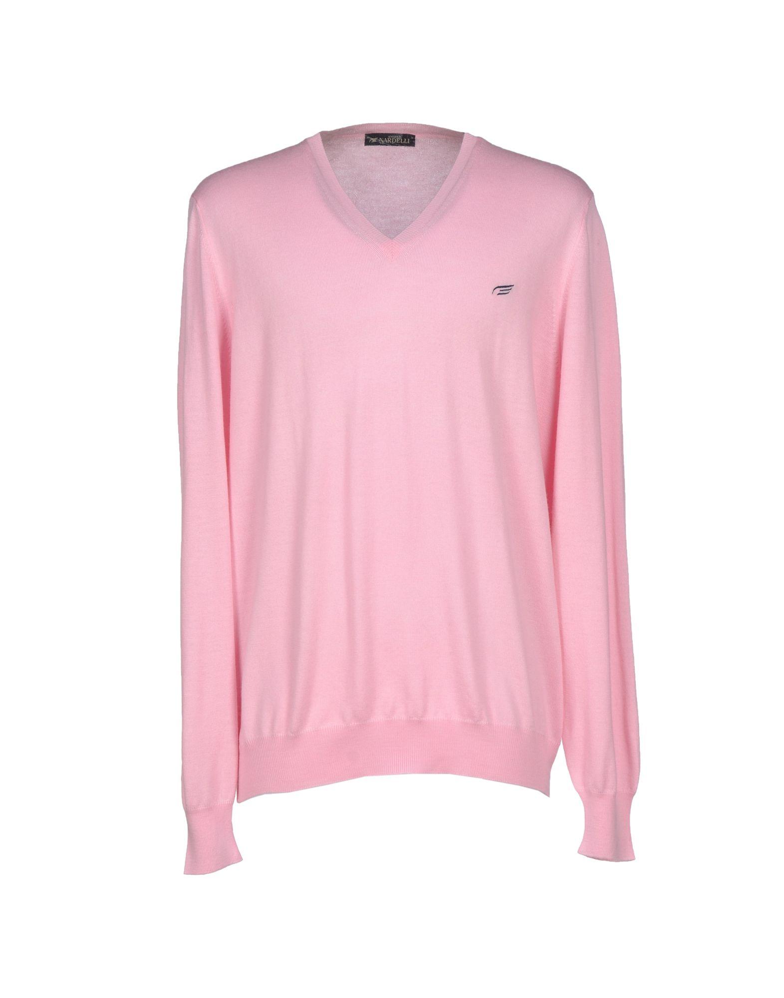 Angelo nardelli Jumper in Pink for Men
