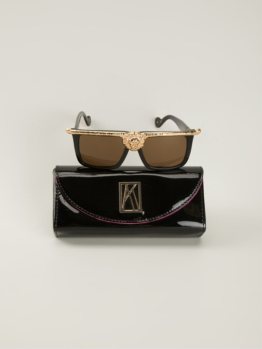 1ff59761b4e Lyst - Anna Karin Karlsson  The Lioness  Sunglasses in Black