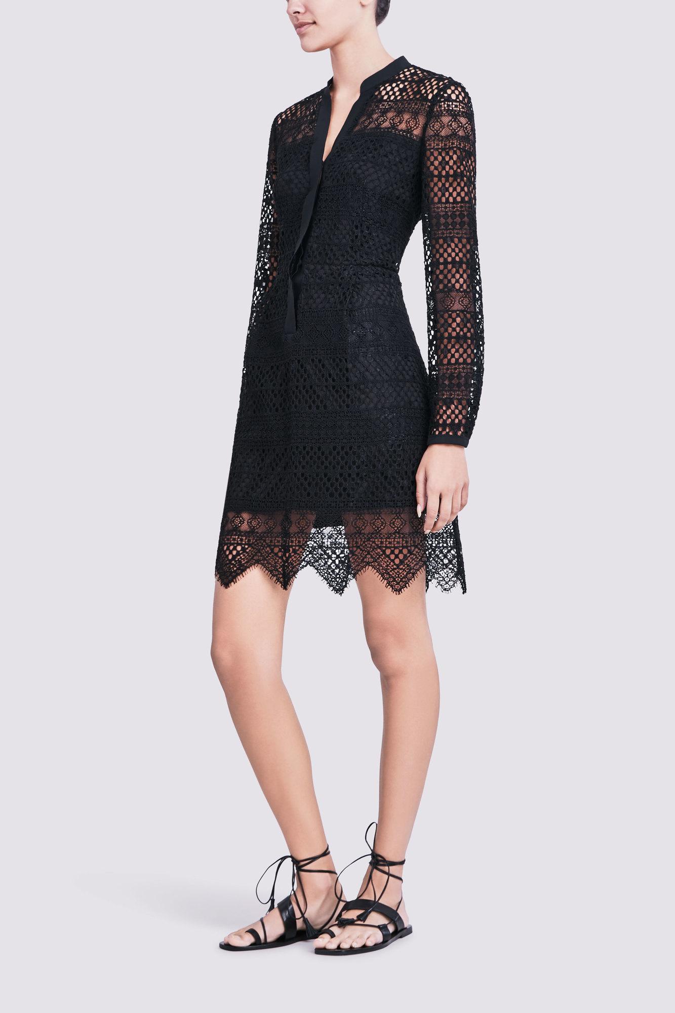 Whitney Lace Shirt Dress