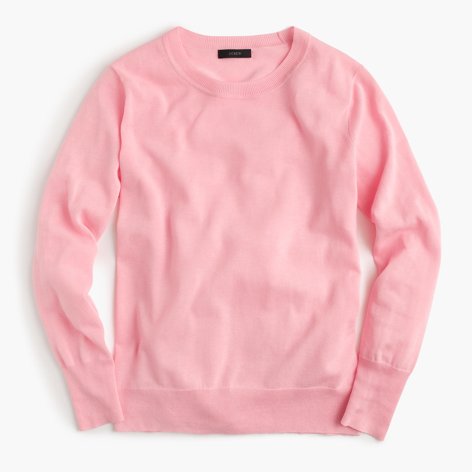 J.crew Summerweight Sweater in Pink | Lyst