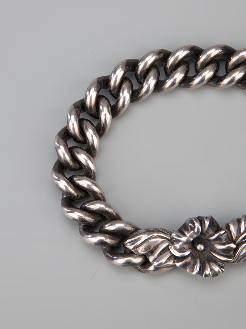 Lyst Werkstatt M 252 Nchen Wild Chunky Bracelet In