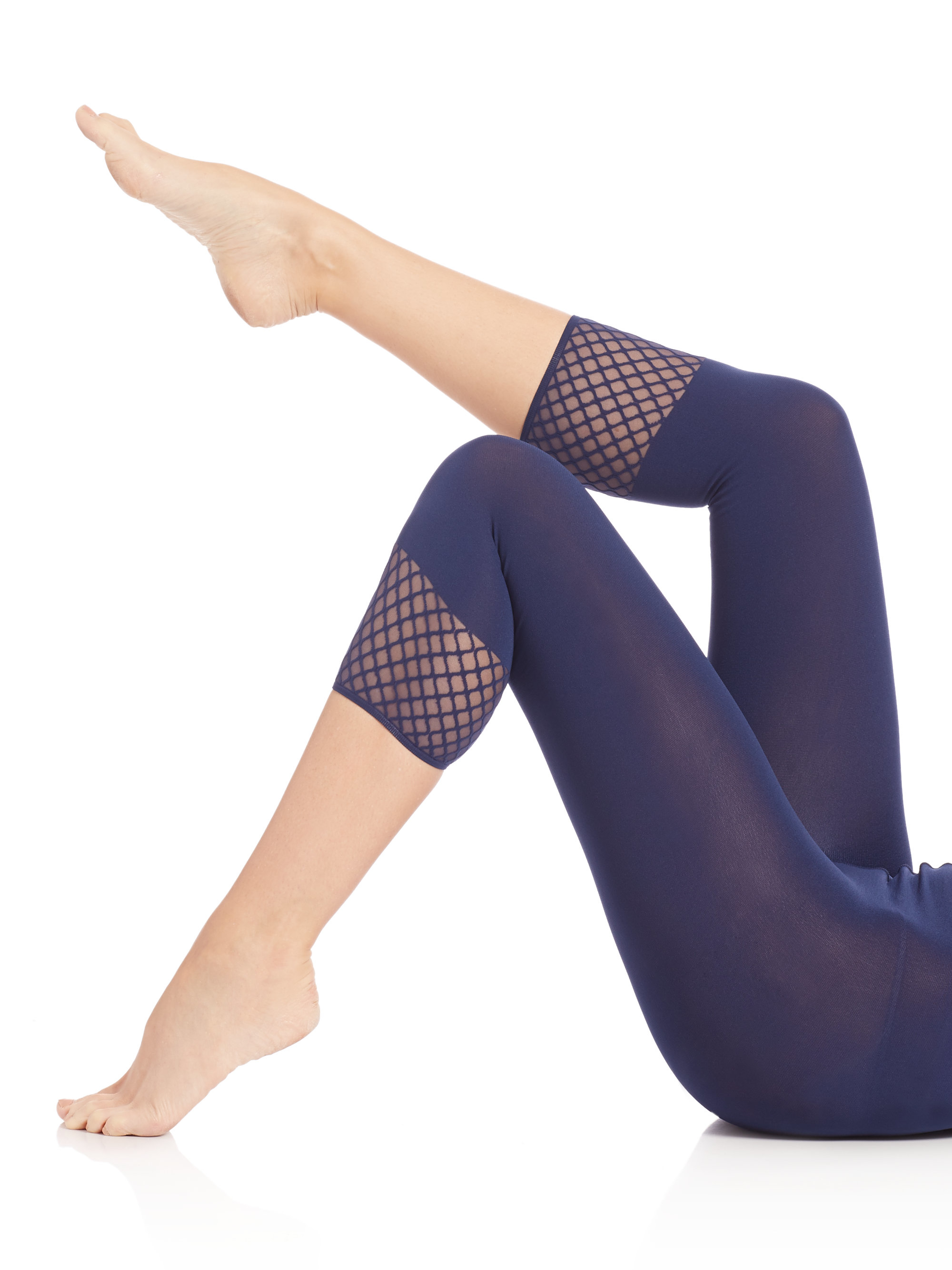 a884411adae1f Wolford Janice Capri Tights in Blue - Lyst