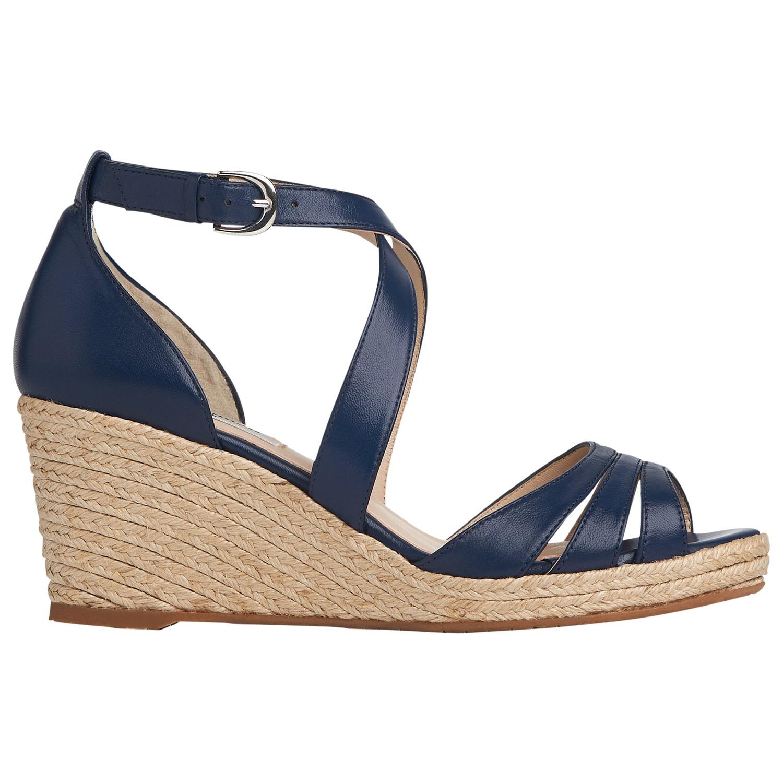 L K Bennett Priya Wedge Heeled Sandals In Black Lyst