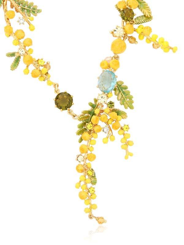 Les Nereides Jardens De Provence Necklace in Metallic