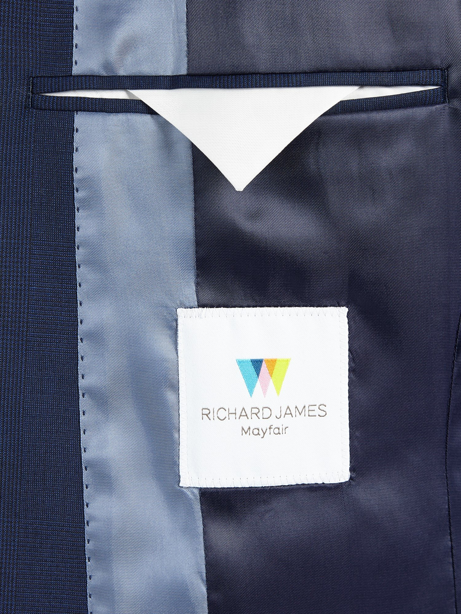 Richard James Flannel Wool Suit Jacket in Blue for Men