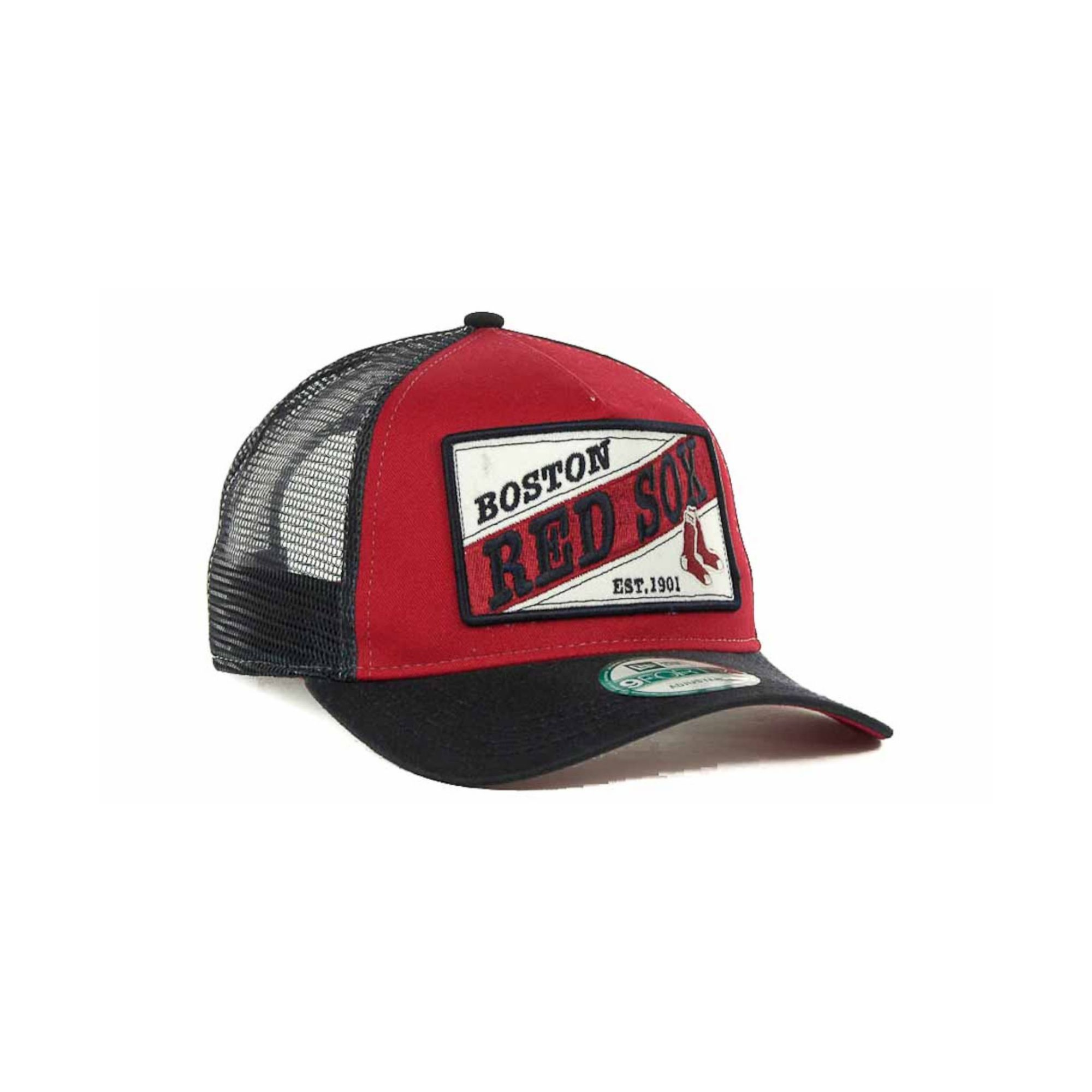 c7e0848e3 ... new zealand lyst ktz boston red sox 18 wheeler 9forty cap in red for  men ce4f3