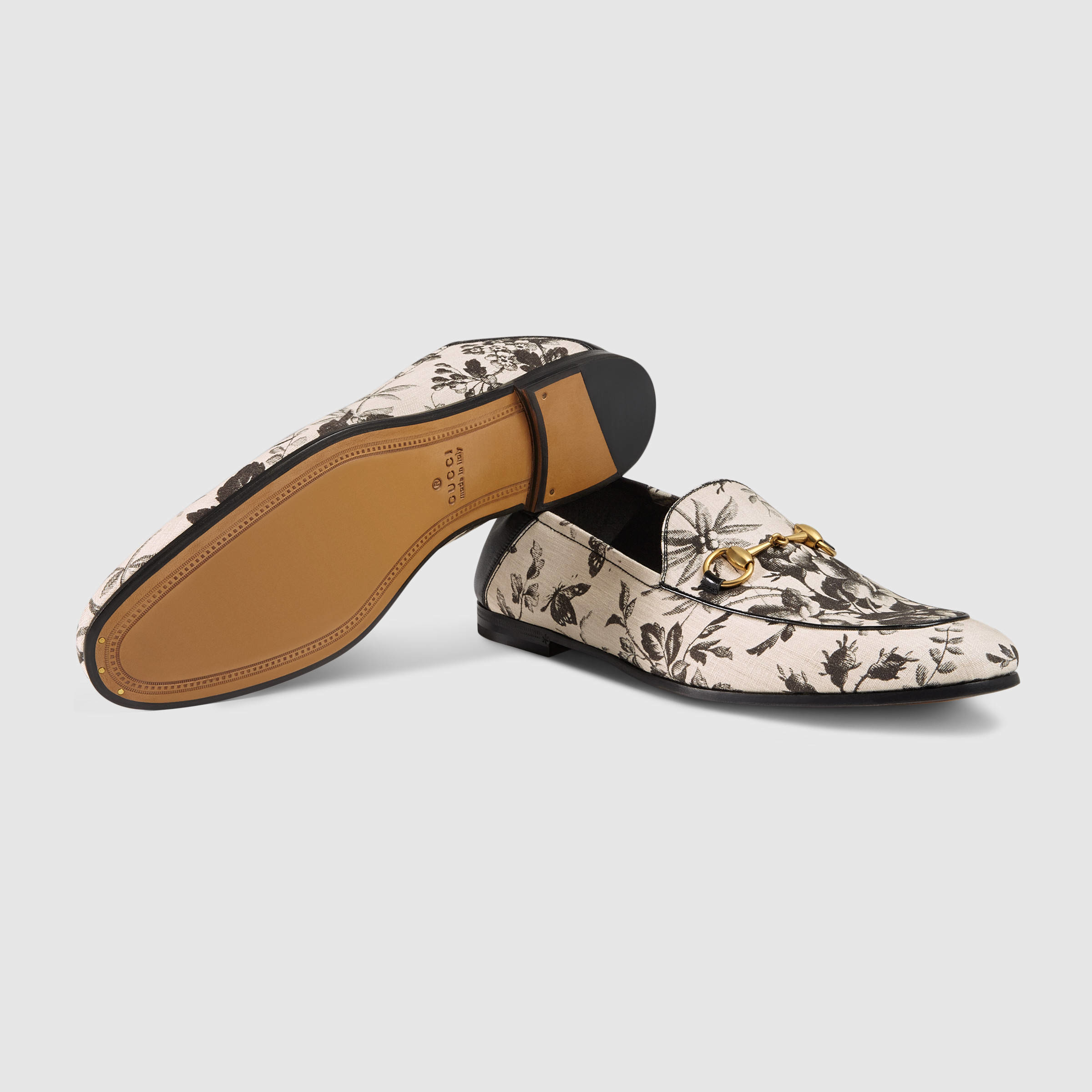 Gucci Driving Loafers in Natural for Men - Lyst