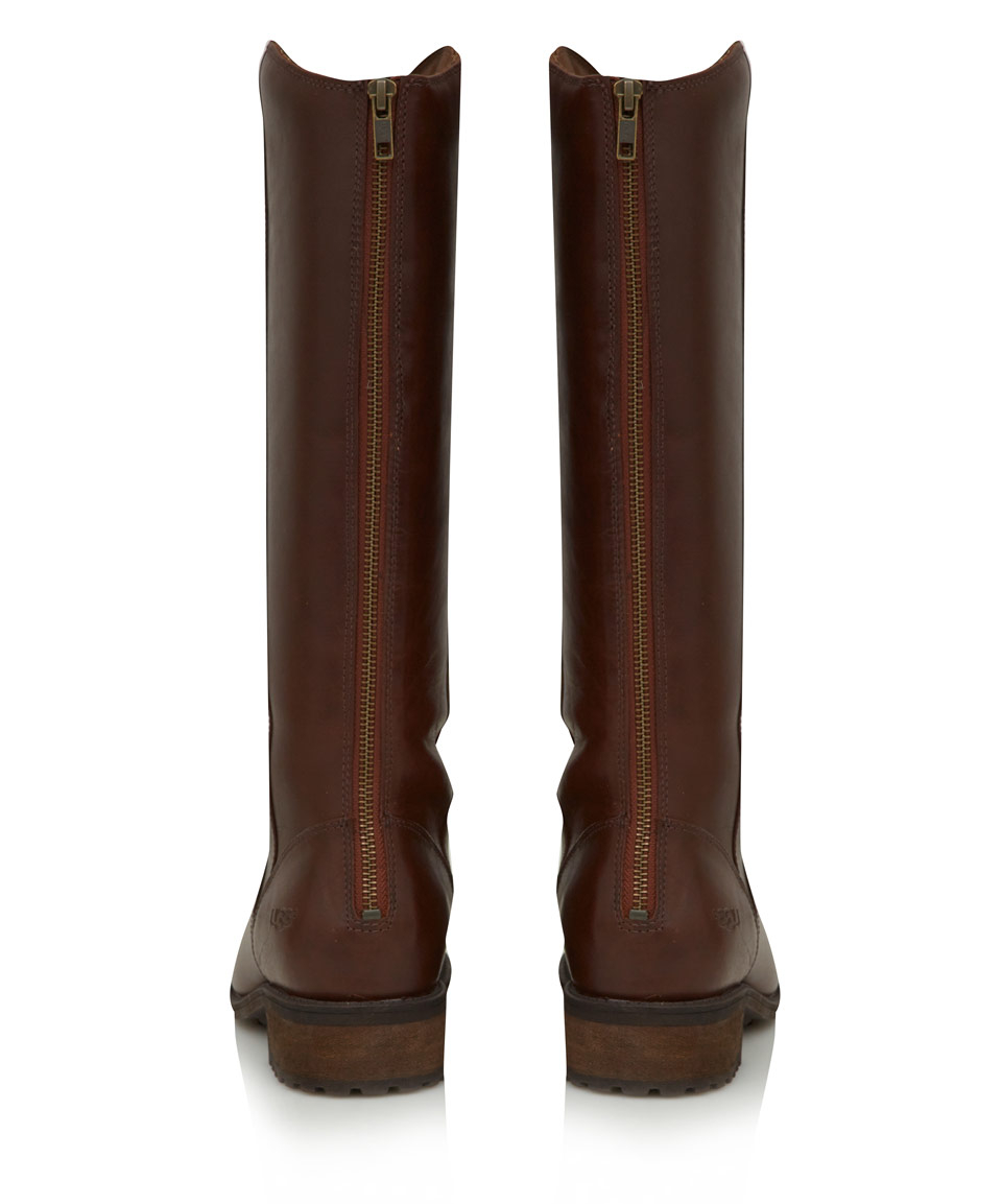 brown knee high ugg boots