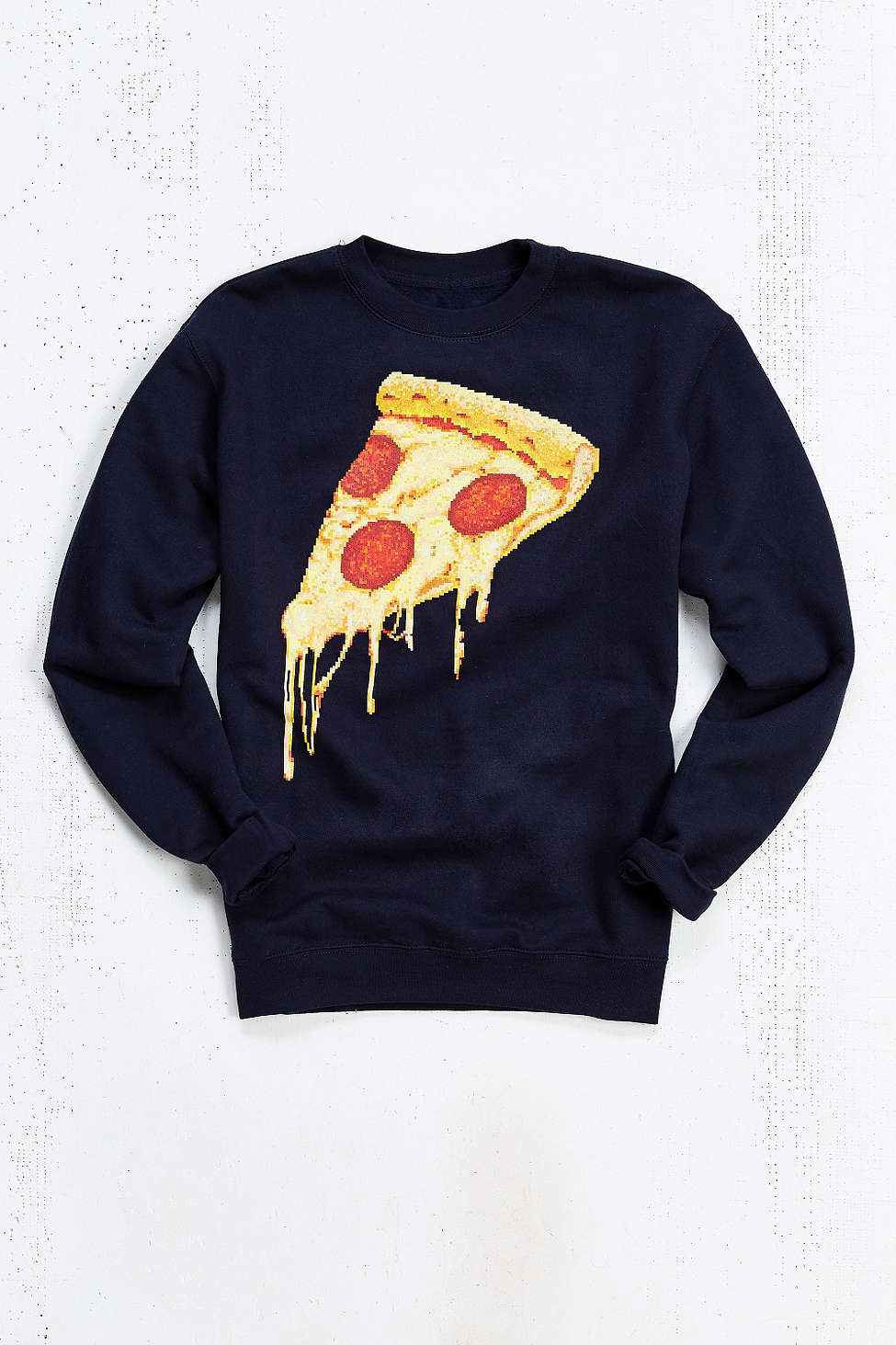 Lyst Urban Outfitters Pizza Pixel Crew Neck Sweatshirt