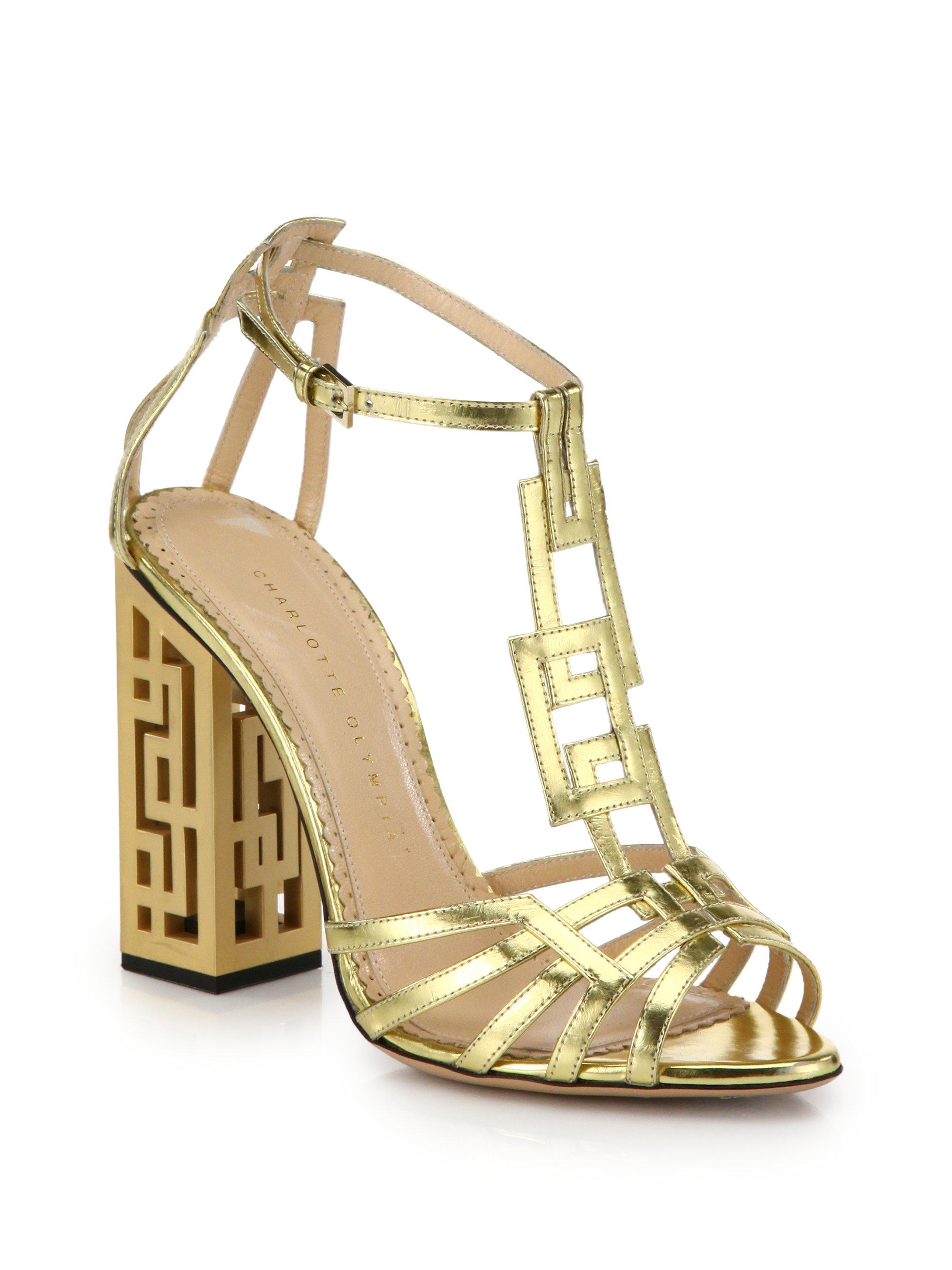 Charlotte Olympia Geometric Cutout-heel