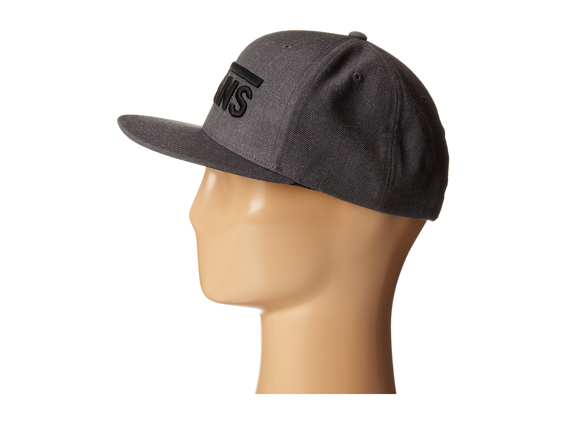 4bdc516c167 Lyst - Vans Drop V Snapback Hat in Gray