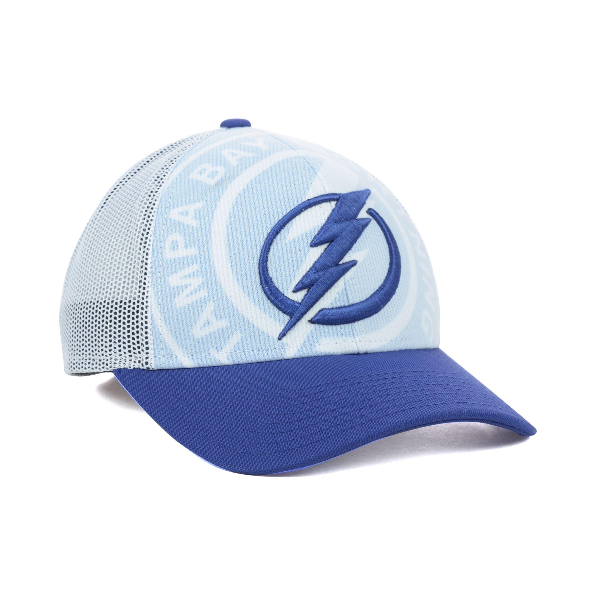 Lyst - Reebok Tampa Bay Lightning Nhl Draft Cap in Blue for Men 1e2f832d531c