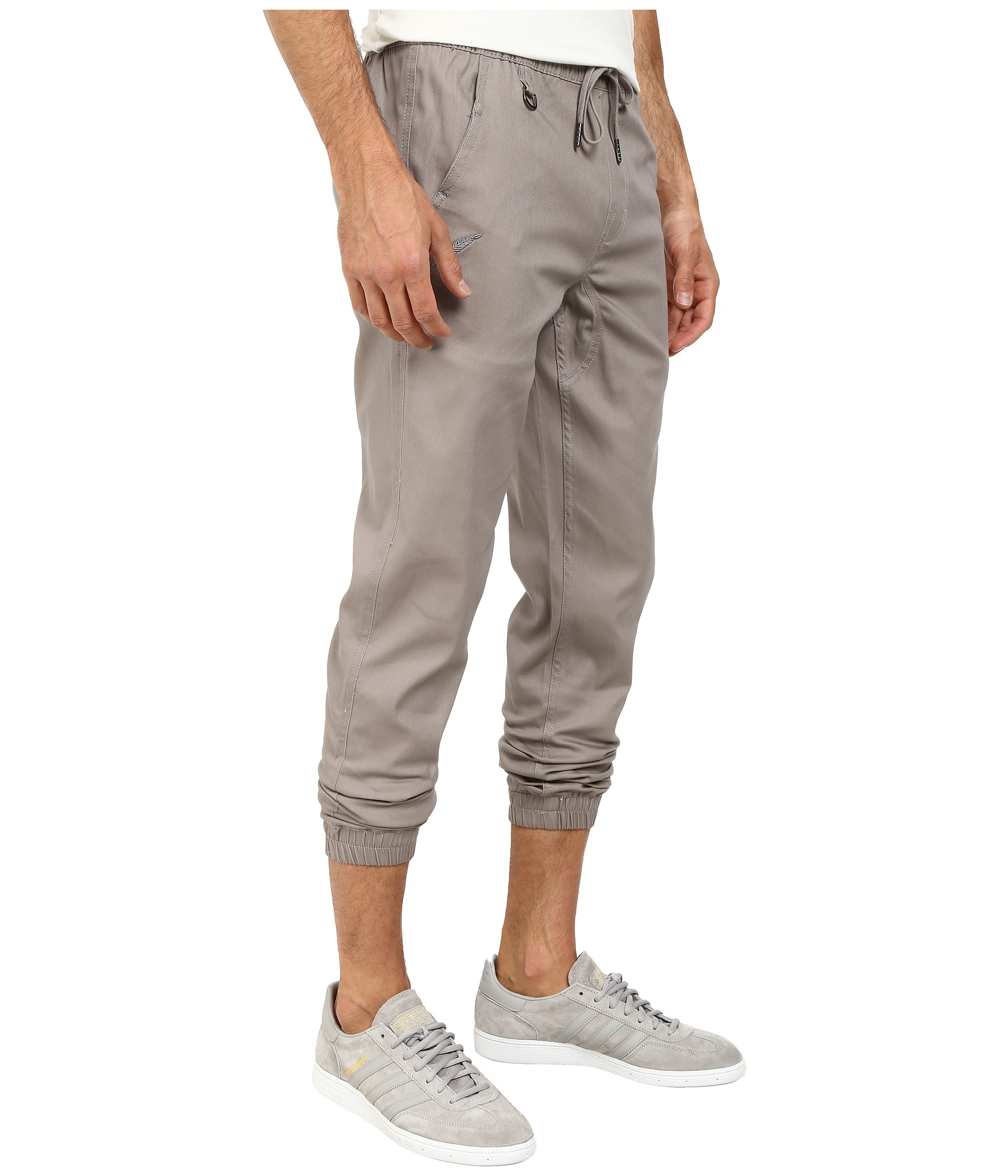 Unique Macron  Hoopika Women39s Melange Grey Jogging Pants  MosaeSportscom