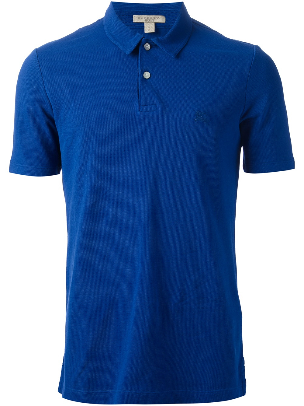 Burberry Brit Short Sleeve Polo Shirt In Blue For Men Lyst