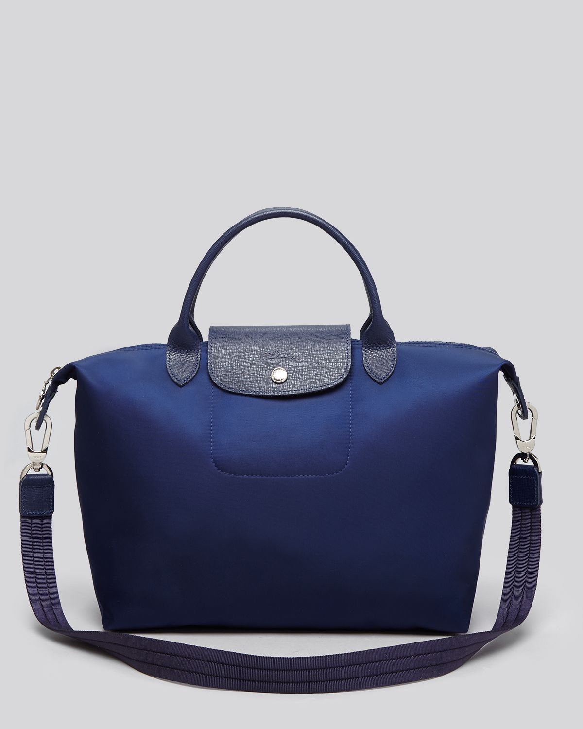French House Longchamp Le Pliage Neo Medium Tote In Blue Lyst