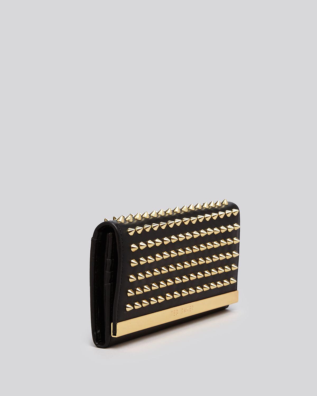 Wallet Studded Metal Bar Continental