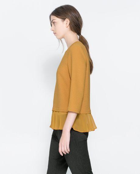 Zara Yellow Blouse 91