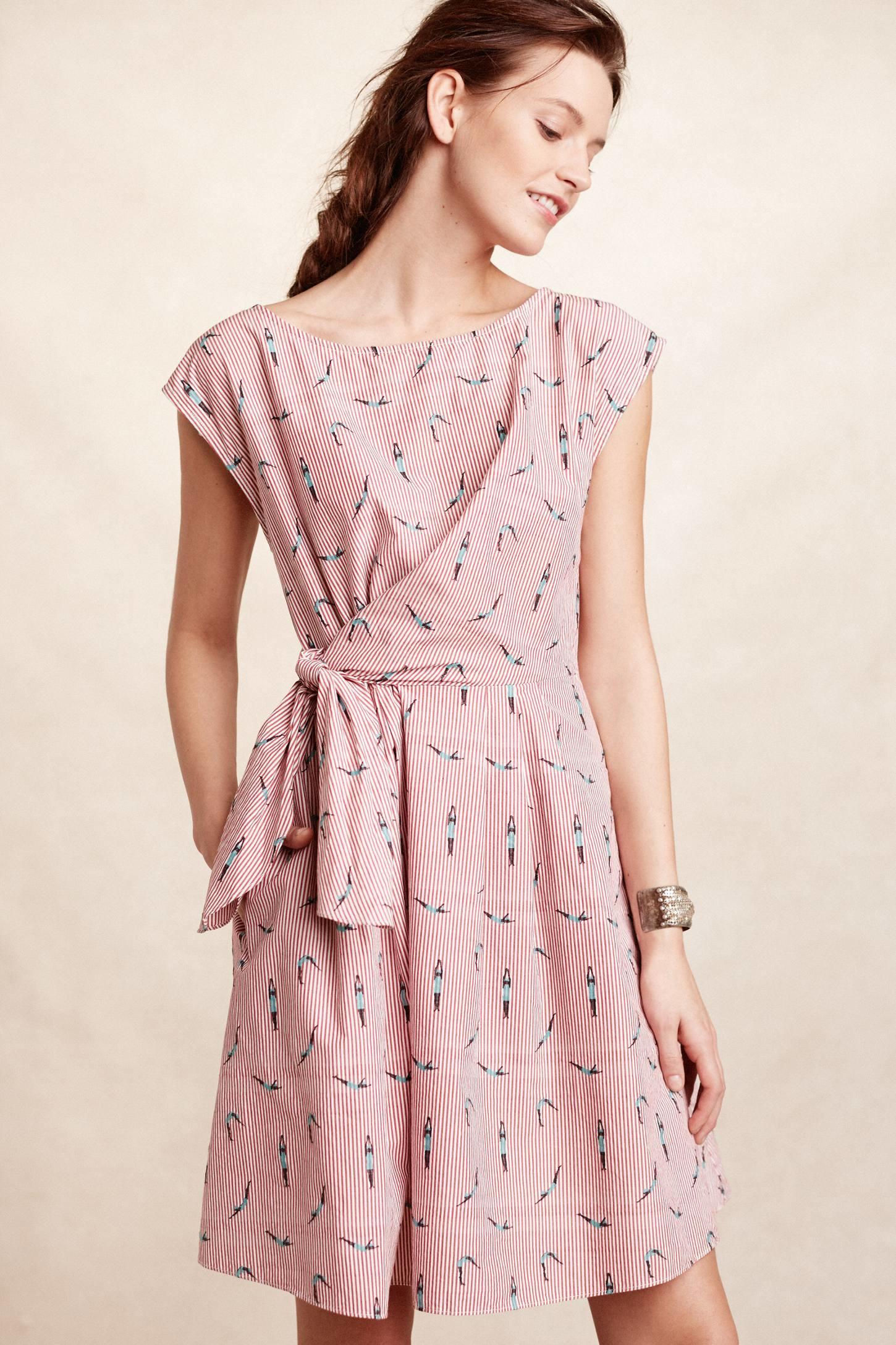 Maeve Bathing Beauty Dress In Pink Lyst