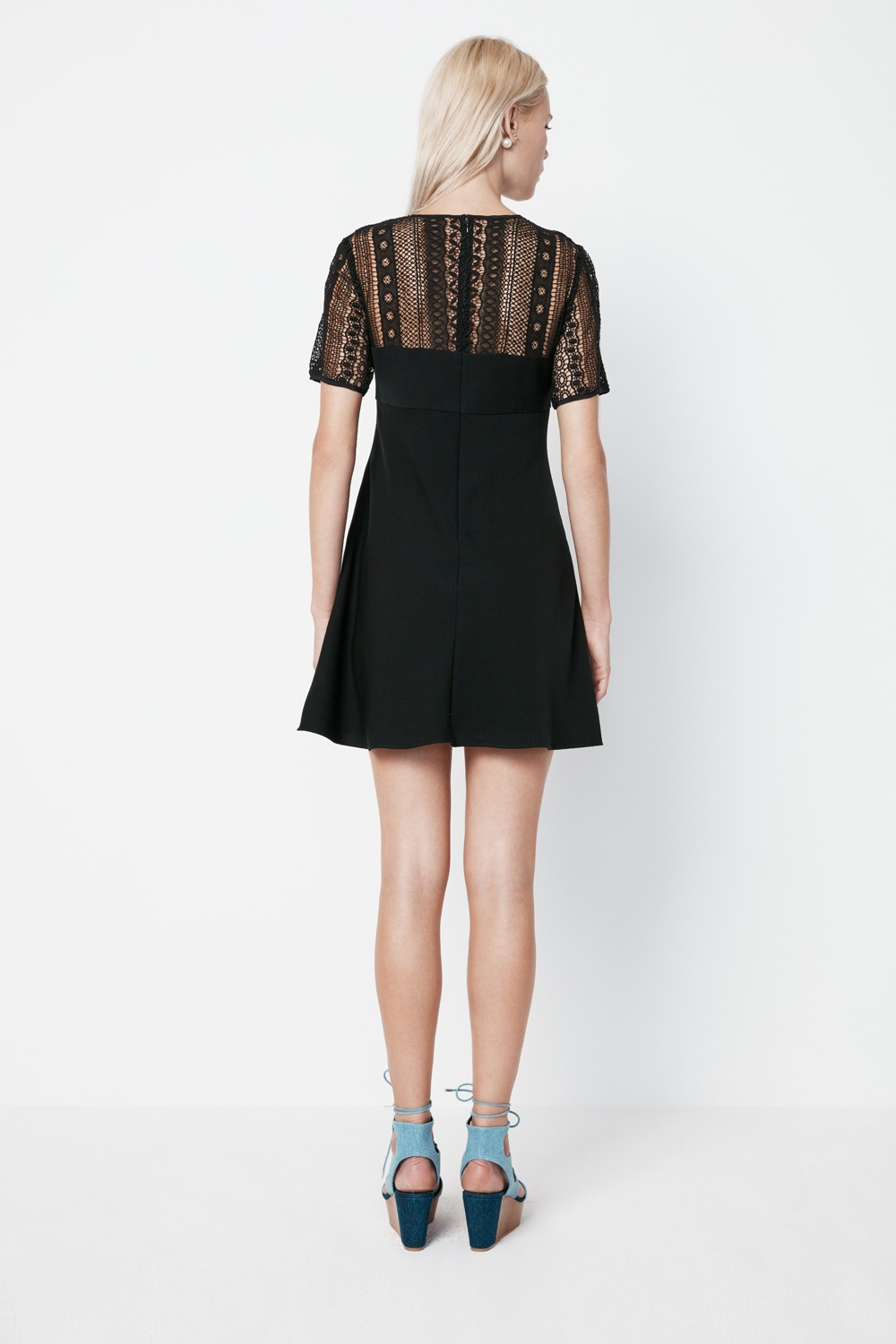 Rebecca Minkoff Moffit Dress In Black Lyst