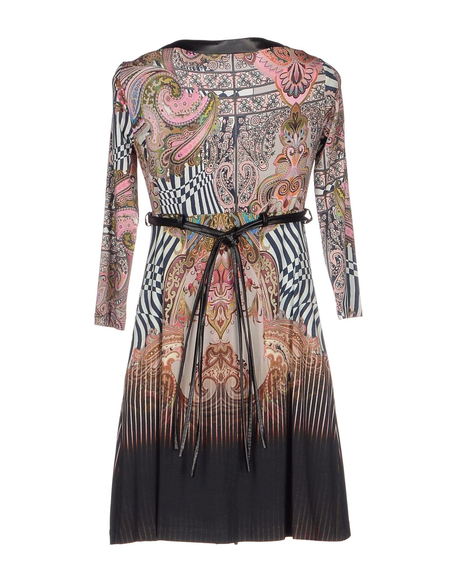 Mariagrazia Panizzi Short Dress In Black Lyst
