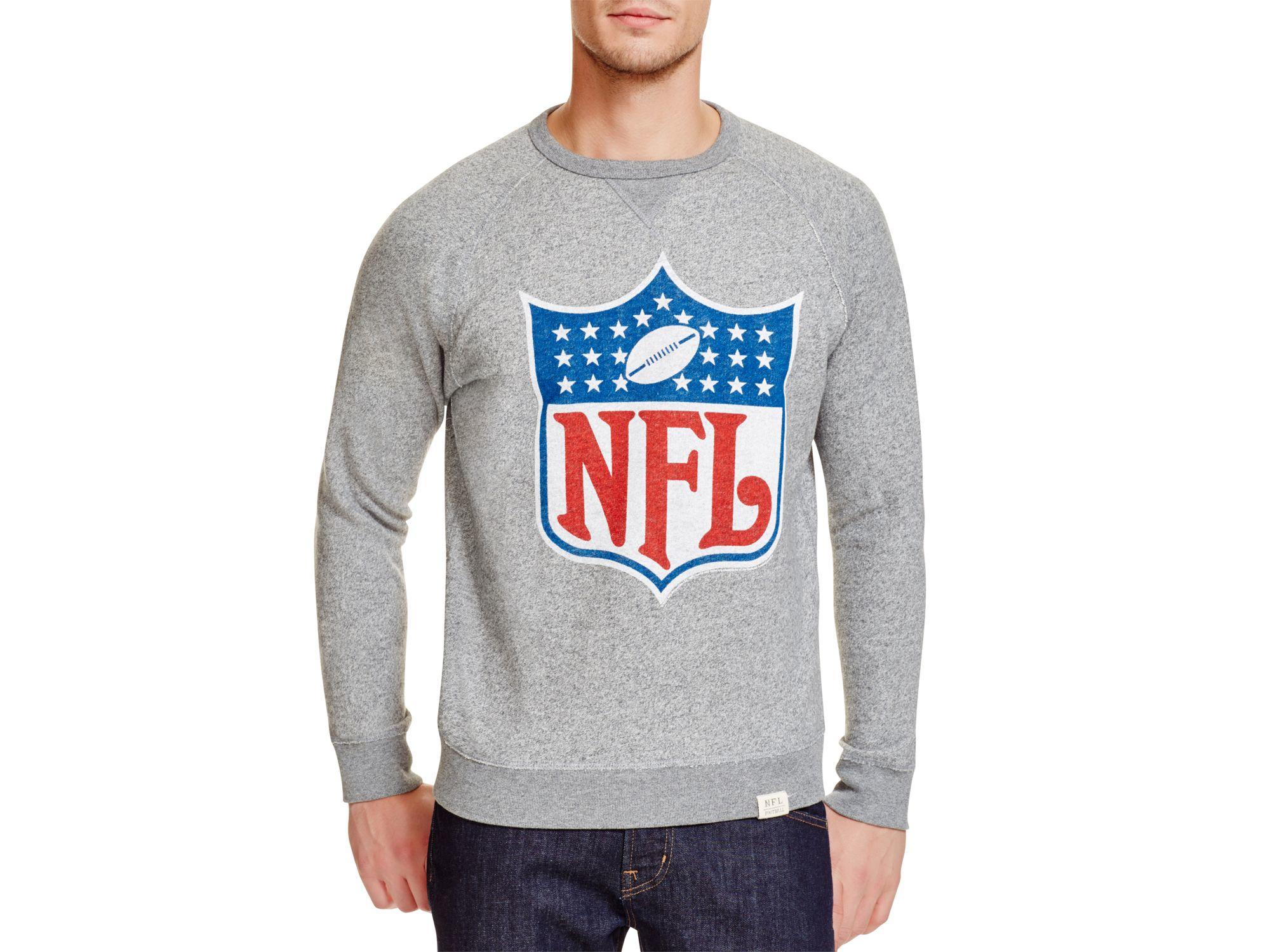 15e512c14 Lyst - Junk Food Nfl Logo Sweatshirt in Gray for Men