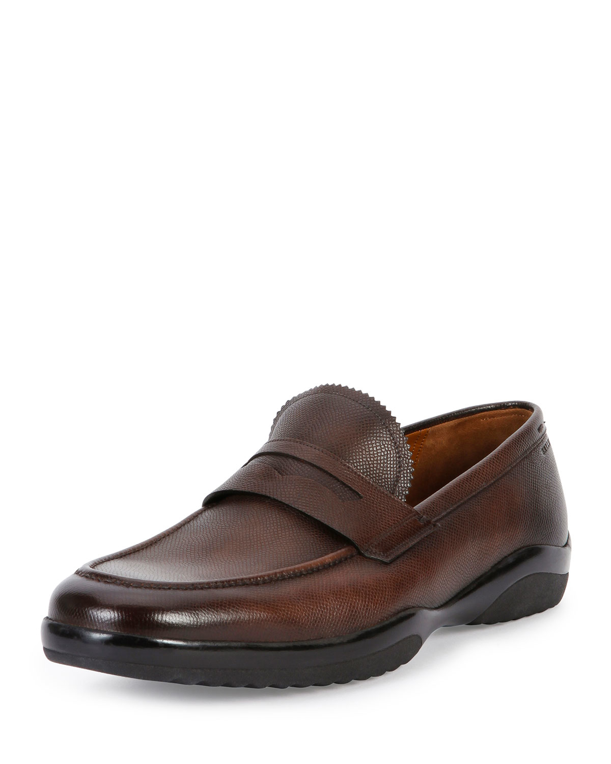 Lyst - Bally Micson Leather Penny Loafer in Brown for Men