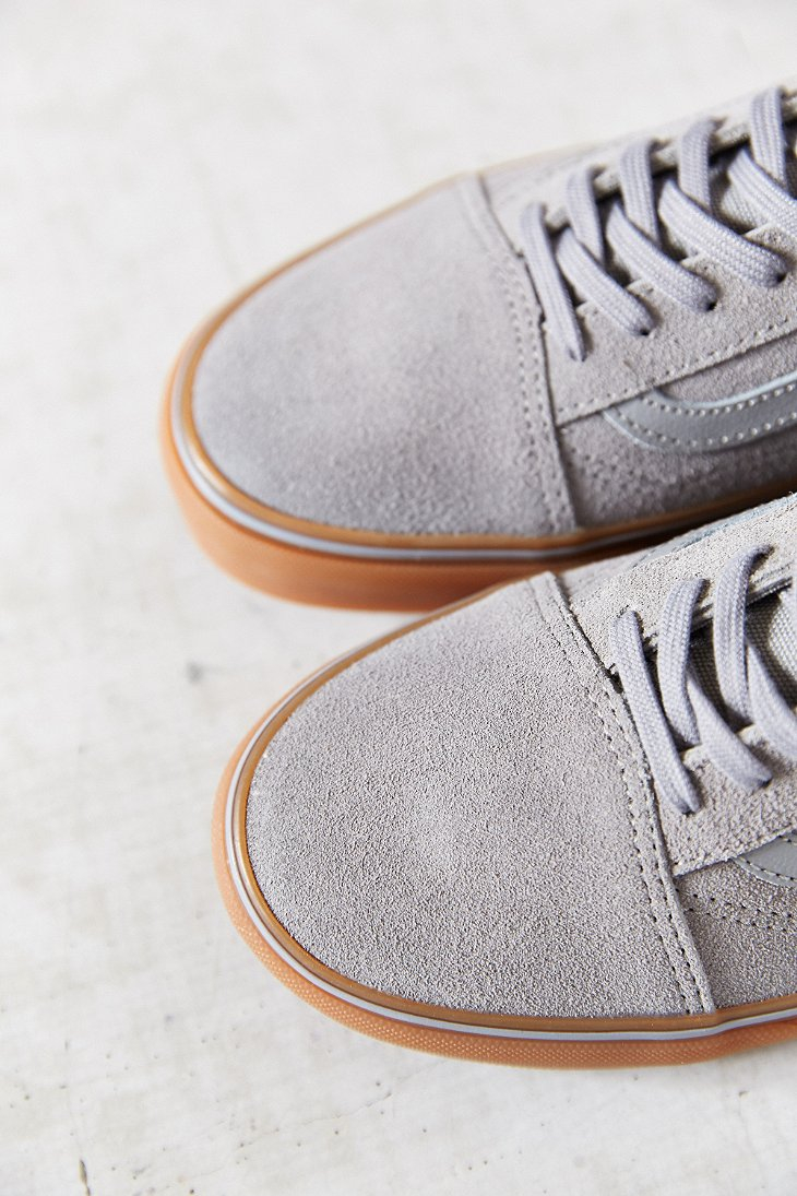 vans old skool gum sole grey