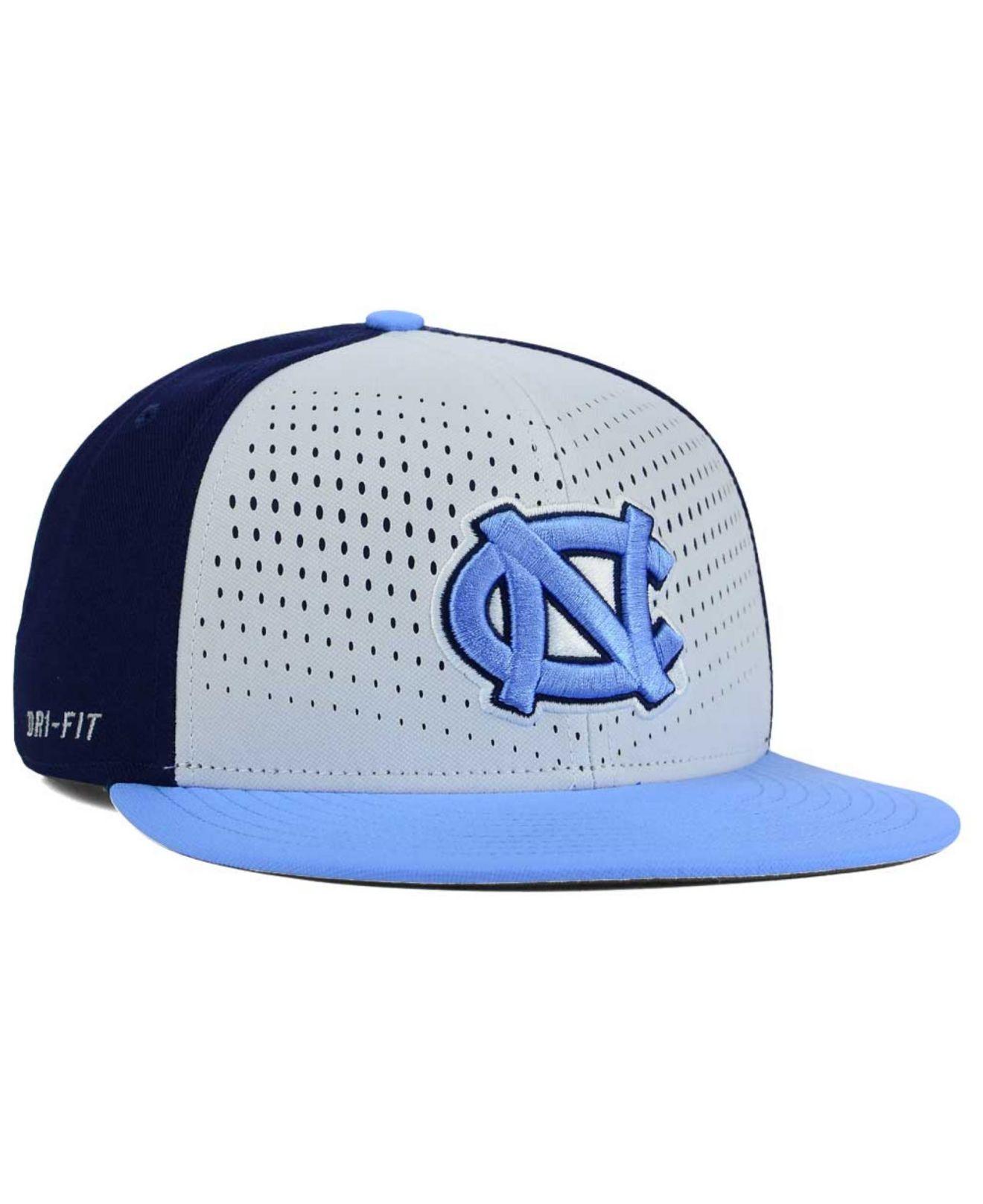 new style 87445 1a96c ... order lyst nike north carolina tar heels true seasonal snapback cap in  86a87 ceaea