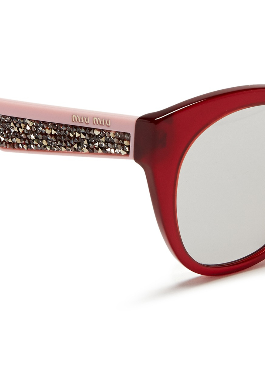 Rhinestone Cat Eye Eyeglasses