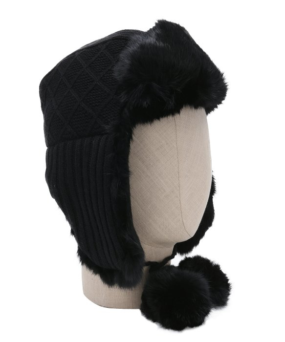 ac14655e1 Ugg Quilted Hat With Fur Trim - cheap watches mgc-gas.com