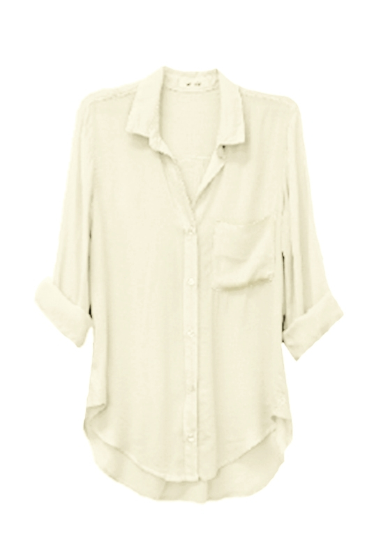 lyst bella dahl clothing bella dahl shirt tail button