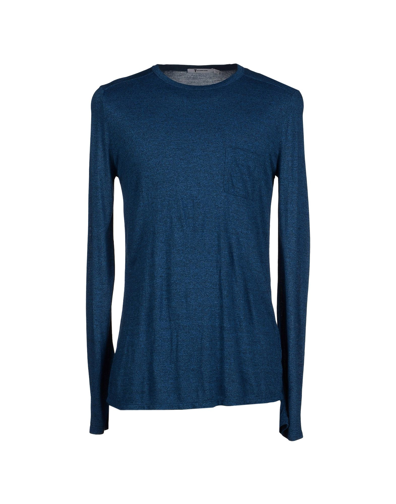 Lyst t by alexander wang t shirt in blue for men for Alexander wang t shirts