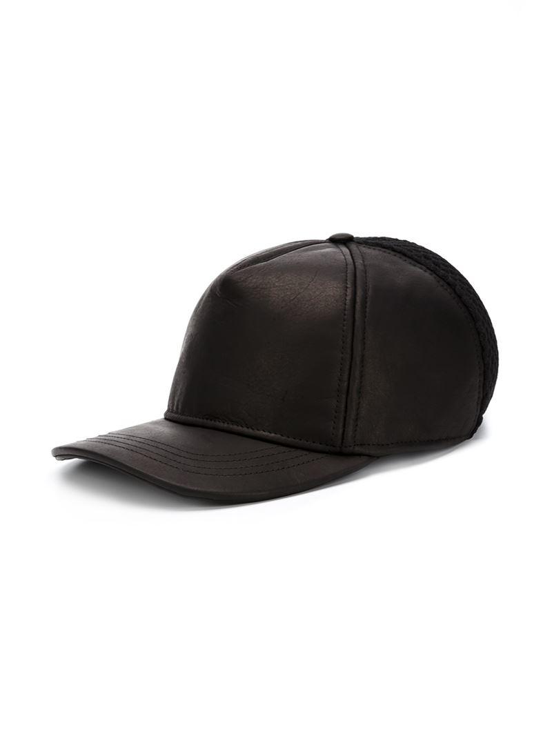 calvin klein mesh back cap in black for men lyst. Black Bedroom Furniture Sets. Home Design Ideas