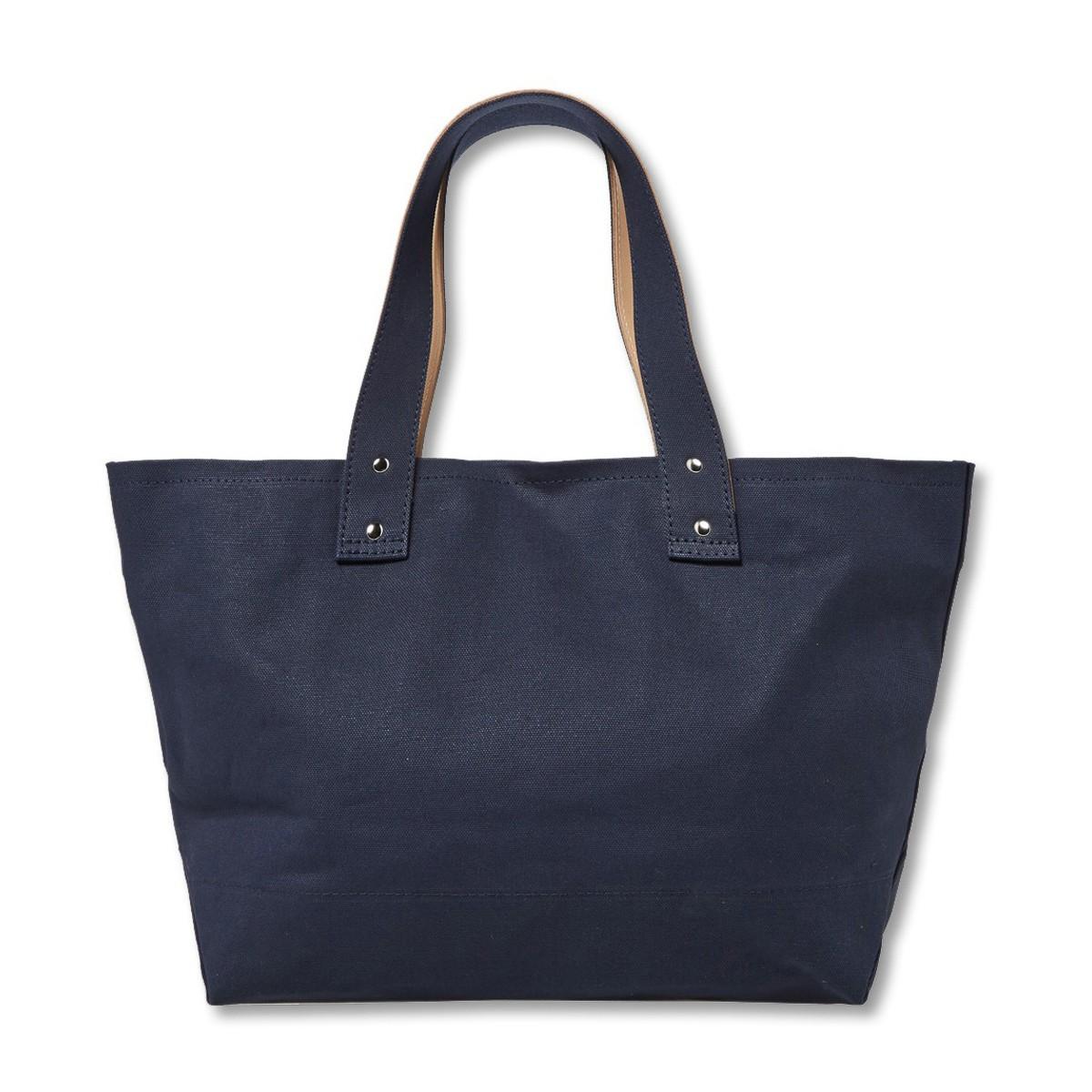 Nanamica Cotton Tote Bag L in Navy (Blue)