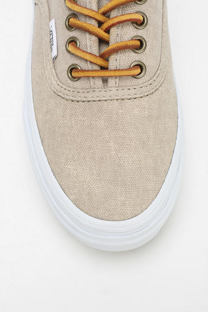 57e8334873d8d4 Lyst - Vans Authentic Washed Womens Sneaker in Natural