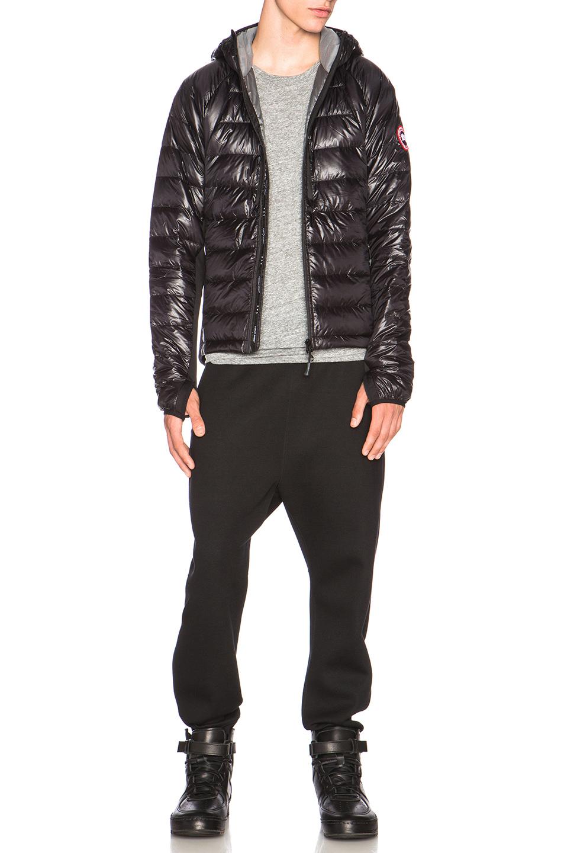 Canada goose Hybridge Lite Puffer Vest in Black : Lyst