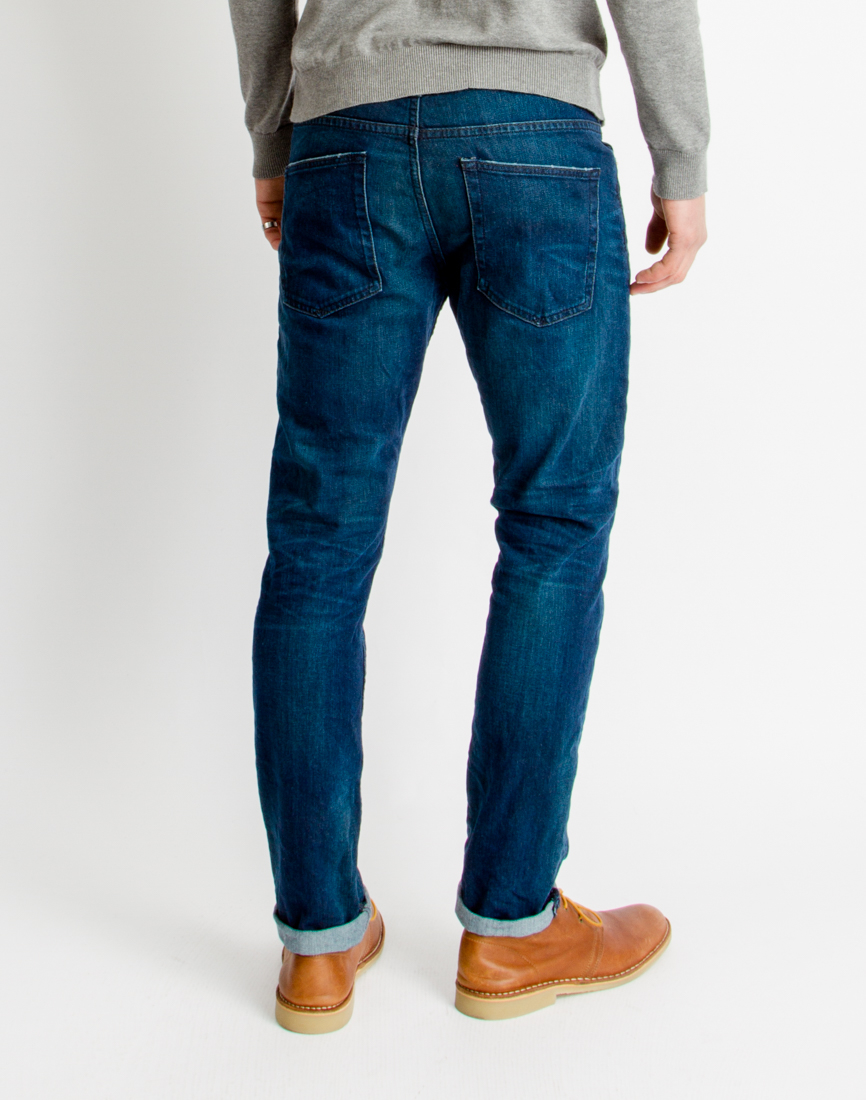 only sons mens 5 pocket regular jeans blue in blue for men lyst. Black Bedroom Furniture Sets. Home Design Ideas
