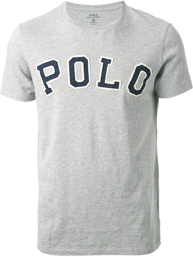 Polo Ralph Lauren Logo Liqué T Shirt