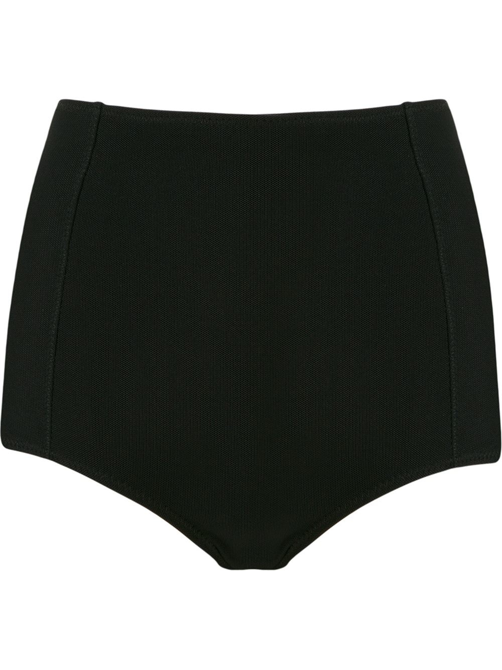 327b8b579a0149 Giuliana Romanno Panelled Hot Pants in Black - Lyst