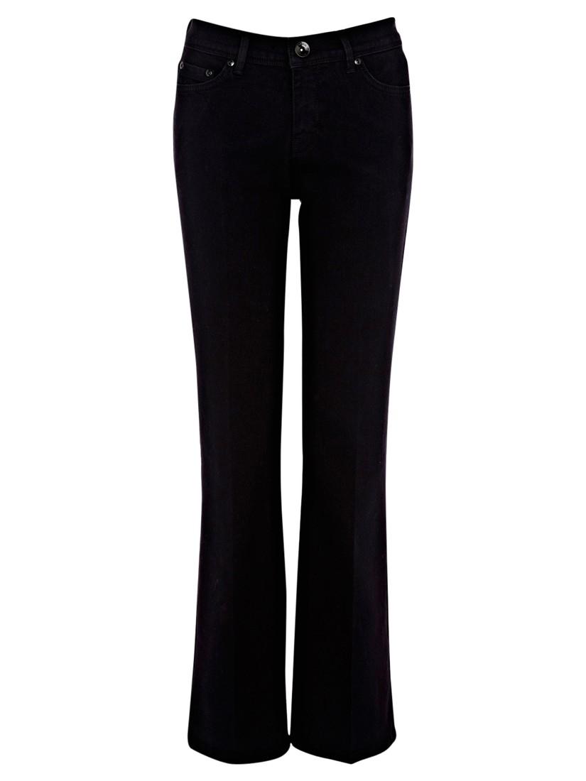 Oasis Mid Wash Scarlet Jeans in Black